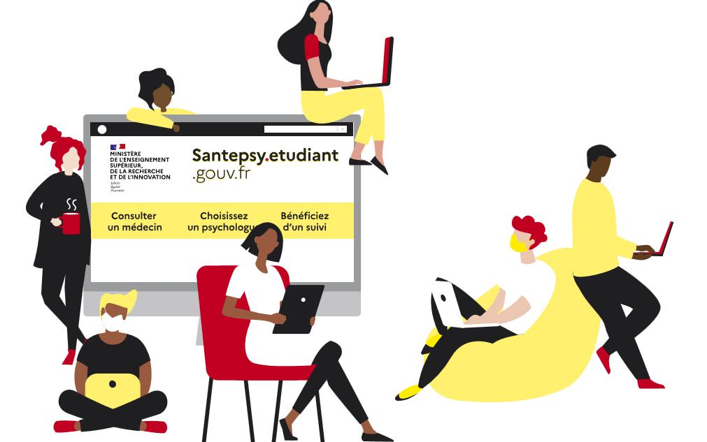 Santé Psy étudiant : accompagnement psychologique pour les étudiants