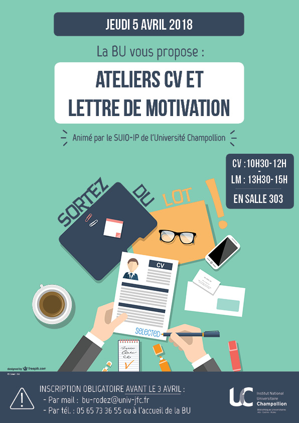 ateliers cv et lettre de motivation